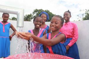 The Water Project: Masoila Roman Catholic Primary School -  Clean Water