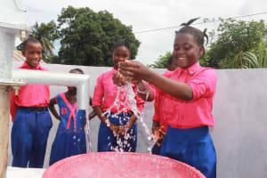 The Water Project: Masoila Roman Catholic Primary School -  Happy Students