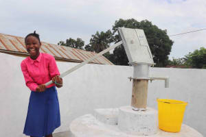 The Water Project: Masoila Roman Catholic Primary School -  Laughing Student