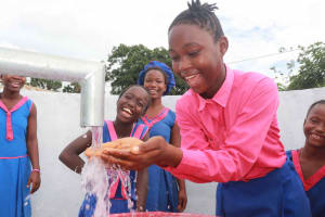 The Water Project: Masoila Roman Catholic Primary School -  Laughing Students