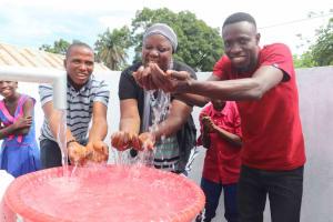 The Water Project: Masoila Roman Catholic Primary School -  Teachers And Students