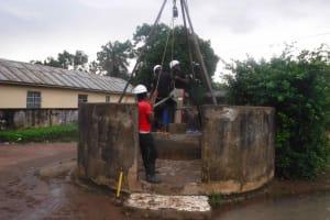 The Water Project: Masoila Roman Catholic Primary School -  Dirty Work
