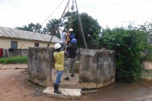 The Water Project: Masoila Roman Catholic Primary School -  Drilling