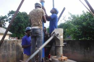 The Water Project: Masoila Roman Catholic Primary School -  Making Progress