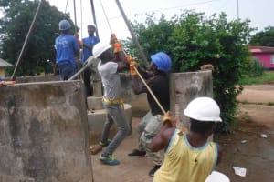 The Water Project: Masoila Roman Catholic Primary School -  Team Effort