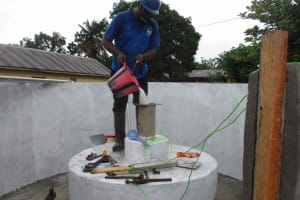 The Water Project: Masoila Roman Catholic Primary School -  Chlorination