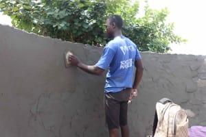 The Water Project: Masoila Roman Catholic Primary School -  Pad Plastering