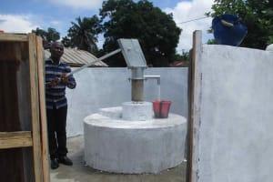 The Water Project: Masoila Roman Catholic Primary School -  Head Teacher At Pump