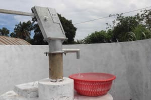 The Water Project: Masoila Roman Catholic Primary School -  Clean Water Flowing