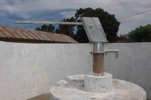 The Water Project: Masoila Roman Catholic Primary School -  Pump Ready To Go