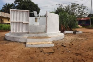 The Water Project: Masoila Roman Catholic Primary School -  Ready For Use