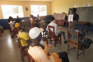 The Water Project: Masoila Roman Catholic Primary School -  Bathing Importance