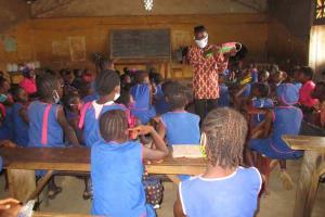 The Water Project: Masoila Roman Catholic Primary School -  Dental Hygiene