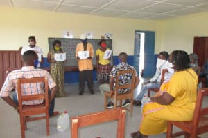 The Water Project: Masoila Roman Catholic Primary School -  Disease Transmission