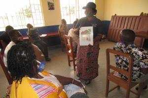 The Water Project: Masoila Roman Catholic Primary School -  Hygiene Training