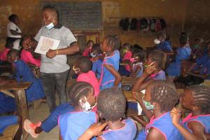The Water Project: Masoila Roman Catholic Primary School -  Students In Training