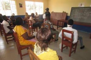 The Water Project: Masoila Roman Catholic Primary School -  Teachers Being Taught