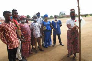 The Water Project: Masoila Roman Catholic Primary School -  Tippy Tap Demonstration