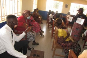The Water Project: Masoila Roman Catholic Primary School -  Training Dicussion