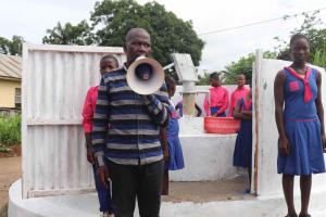 The Water Project: Masoila Roman Catholic Primary School -  Alex Dawo Speech