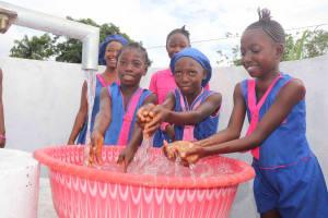 The Water Project: Masoila Roman Catholic Primary School -  Kids At Well