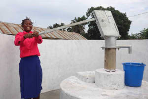 The Water Project: Masoila Roman Catholic Primary School -  Pumping Water
