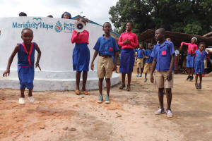 The Water Project: Masoila Roman Catholic Primary School -  Singing And Dancing
