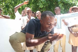 The Water Project: St. Joseph Senior Secondary School -  Teacher And Students