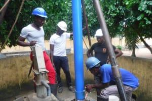 The Water Project: St. Joseph Senior Secondary School -  Drilling