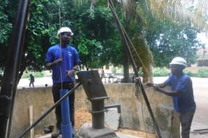 The Water Project: St. Joseph Senior Secondary School -  Bailing