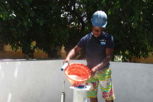 The Water Project: St. Joseph Senior Secondary School -  Chlorination