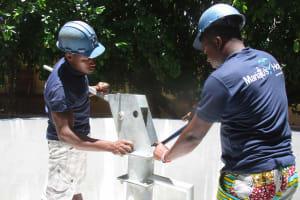 The Water Project: St. Joseph Senior Secondary School -  Pump Installation
