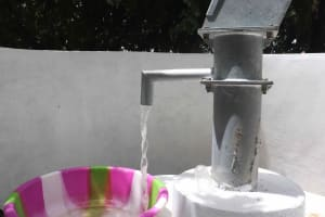 The Water Project: St. Joseph Senior Secondary School -  Clean Water Flowing
