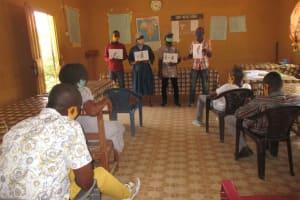 The Water Project: St. Joseph Senior Secondary School -  Disease Transmission