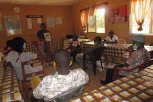 The Water Project: St. Joseph Senior Secondary School -  Hygiene Practices