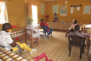 The Water Project: St. Joseph Senior Secondary School -  Participant Handwashing