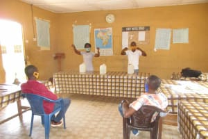 The Water Project: St. Joseph Senior Secondary School -  Tippy Tap Construction