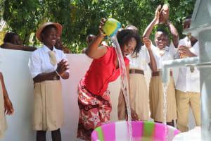 The Water Project: St. Joseph Senior Secondary School -  Celebration