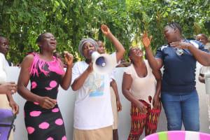 The Water Project: St. Joseph Senior Secondary School -  School Market Women Celebrating