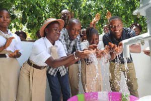The Water Project: St. Joseph Senior Secondary School -  Students And Teachers