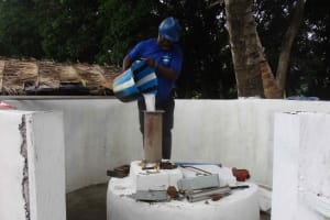The Water Project: Lungi, Targrin, #11 King Street -  Chlorination