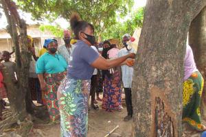 The Water Project: Lungi, Targrin, #11 King Street -  Handwashing Demonstration
