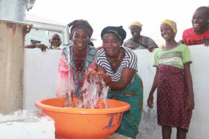 The Water Project: Lungi, Targrin, #11 King Street -  Happy Community Members