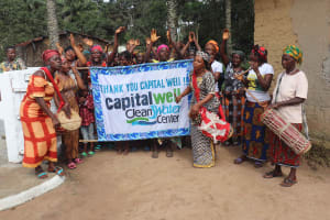 The Water Project: Lokomasama, Kalangba Junction, Next to Alimamy Musa Kamara's House -  Celebrating And