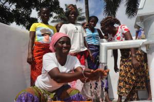 The Water Project: Lokomasama, Kalangba Junction, Next to Alimamy Musa Kamara's House -  Joyful For Safe Water