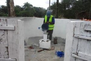 The Water Project: Lokomasama, Kalangba Junction, Next to Alimamy Musa Kamara's House -  Chlorination