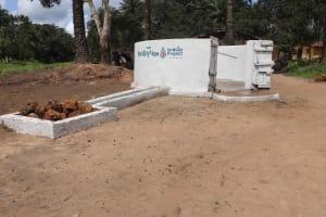 The Water Project: Lokomasama, Kalangba Junction, Next to Alimamy Musa Kamara's House -  Finished Water Point