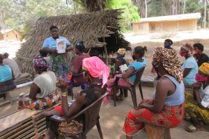 The Water Project: Lokomasama, Kalangba Junction, Next to Alimamy Musa Kamara's House -  Bad Hygiene Practice