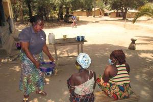 The Water Project: Lokomasama, Kalangba Junction, Next to Alimamy Musa Kamara's House -  Hand Washing