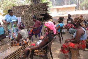 The Water Project: Lokomasama, Kalangba Junction, Next to Alimamy Musa Kamara's House -  Importance Of Breast Feeding